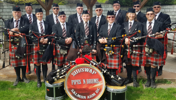 Shuswap Pipes 'n Drums